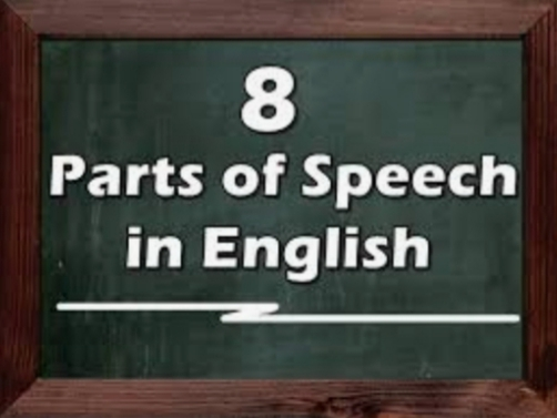 Parts Of Speech: 8 Basics Of The English Language